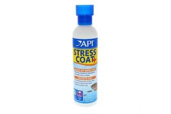 API Stress Coat 240ml Aquarium Makes Tap Water Safe Fish Tank