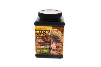 Hagen Bearded Dragon Food Soft Pellets Adult Reptile Exo Terra 250g