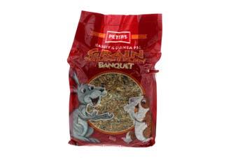 Peters Grain Selection Banquet Pet Food 4kg Premium Quality Designed by Vets