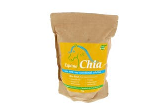 Chia Seeds Horse Equine Herbs 1kg Health Supplement Healthy Glossy Coat Hooves