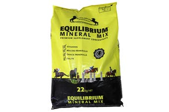 Equilibrium Mineral Mix Premium Supplement Concentrate Horse Equine 22kg