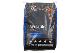 Nutririce Versatile Coprice High Fat Fibre Low Starch Horse Feed Food 20kg