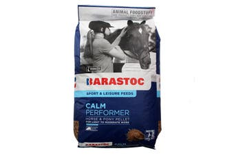 Calm Performer Barastoc Barastoc Oat Free Added Molasses Horse Feed Food 20kg