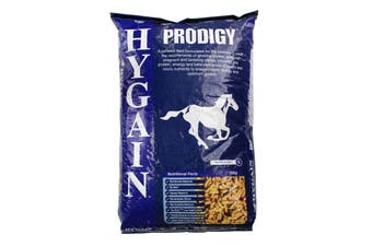 Hygain Prodigy Prebiotic  Natural Vit E Selenium Silicon Horse Feed Food 20kg