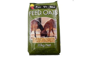 Whole Feed Oats 20kg Natural Horse Food Pro Vit Min Feed Animal Clean Filtered