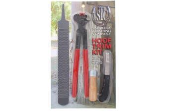 Hoof Trim Kit Professional Complete Knife Rasp Horse Equine DIY Farrier Tools