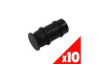 END PLUG 19mm Low Density Fittings Garden Water Irrigation 44565 BAG of 10