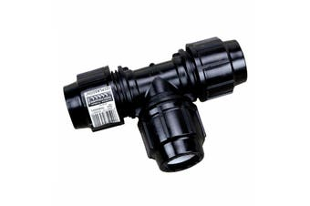 TEE 32mm for Metric Poly 69146 Water Irrigation Pressure Pipe Plasson