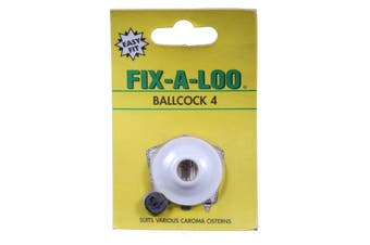 Fix-A-Tap Ballcock Washer #4 White Suits Various Caroma Cisterns 235268