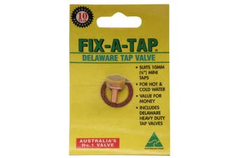 Fix-A-Tap Delaware Tap Valve Suits 3/8 Inch 10mm Mini Taps Hot and Cold 231161