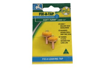 Fix-A-Tap Soft Turn Tap Valve For 1/2 Inch 13mm Tap Drip Free Seal 232007