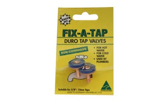Fix-A-Tap Duro Tap Valves For 5/8Inch 15.8mm Tap For Hot and Cold Water 205155
