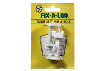 Fix-A-Tap Toilet Seat Nut and Bolt Suits Caroma 268563 Economical Bolt Repair