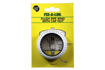 Fix-A-Tap Flush Pipe Ring With Cap Nut 50mm 2 Inch 208149 Plumbing