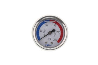 Pool Spa Pressure Gauge Centre Mount Oil Filled High Quality Housing Tough