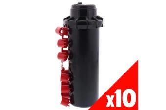 Pop Up Sprinkler Hunter PGP Adjustable Garden Water Irrigation 10 Pack