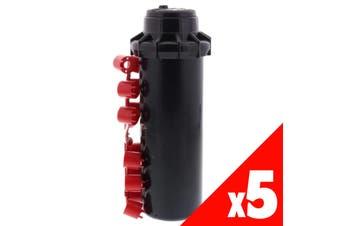 Pop Up Sprinkler Hunter PGP Adjustable Garden Water Irrigation 5 Pack