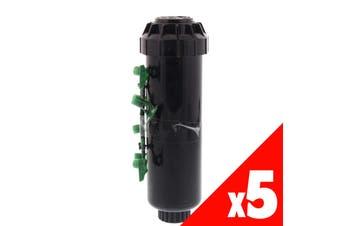 Pop Up Sprinkler Hunter SRM Adjustable Arc Garden Water Irrigation 5 Pack