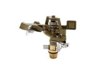 Garden Hose Impact Spray 15mm Adjustable Watering Brass