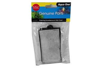 Aquarium ClearView 280 Cartridge Carbon 2 Pack 55C 25055C Fish Tank Aqua One