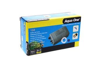 Airpump Battery Air 150 Splash Resist 150L/Hr 10022 Fish Tank Aquarium Aqua One