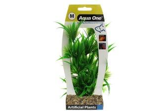 Aquarium Plant PAPYRUS with Gravel Base MEDIUM 28193 Fish Tank Aqua One
