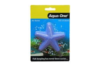 Aquarium Air Stone Shaped Star Fish 8.5cmx8.5cm Medium 10352 Fish Tank Aqua One