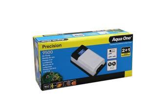Precision 9500 Aquarium Air Pump 10047 Fish Tank Aqua One