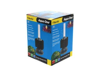 Aquarium Filter Air 30 Fish Tank 19884 Aqua One Carbon Weighted Base Filtration