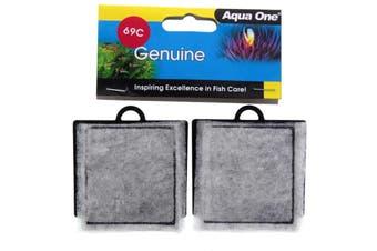 Aquarium Carbon Cartridge 340 Pro Aquastart 69C Fish Tank 25069C Aqua One