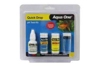 Aquarium Quick Drop pH Test Kit 92000 Fish Tank Aqua One