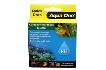 Aquarium Test Kit Carbonate Hardness kH Quickdrop 92057 Fish Tank Aqua One
