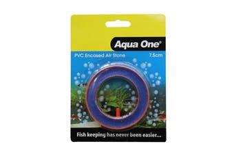 Aquarium Air Stone PVC Encased Beauty Round 7.5cm 10149 Fish Tank Aqua One