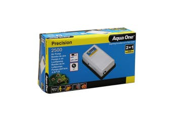 Precision 2500 Aquarium Air Pump 10069 Fish Tank Aqua One