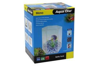 Mono Betta Tank Aquarium 56121 Fish Tank Aqua One Setup All In One Modular