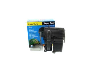 100 Clearview Hang On Filter 180 L/Hr 11526 Fish Tank Aquarium Aqua One