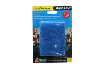 Aquarium Scrub N Clean Algae Pad Coarse Small 23201 Fish Tank Aqua One