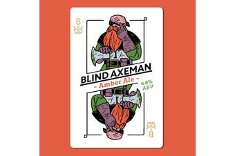 BLIND AXEMAN Amber Ale Wort Kit All Inn Brewing Co Home Brew Malt Aroma