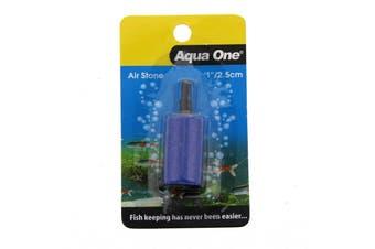 Aquarium Airstone Cylinder 1 Inch / 2.5cm Fish Tank 10143 Aqua One Air Stone