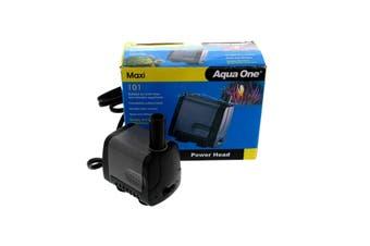 101 Maxi Pump Power Head 400 L/Hr 0.65m Fish Tank Quiet Aquarium Aqua One