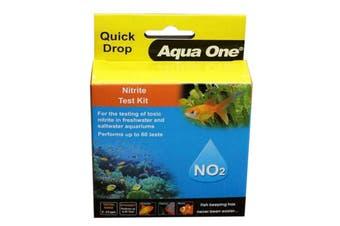 Aquarium Test Kit Nitrite NO2 Quick Drop 92054 Fish Tank Aqua One