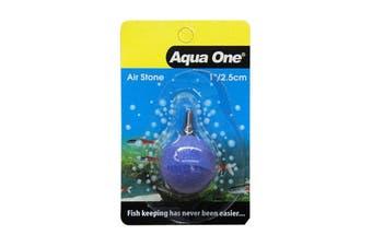 Aquarium Air Stone Ball 2.5cm 10142 Fish Tank Aqua One Generate Oxygen Health