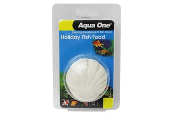 Holiday Fish Food Blocks 40g Aquarium 95005 Slow Release Aqua One