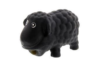 Dog Toy Bo The Black Sheep Latex K9 Homes With Grunting Sound Squeeker Fun Play