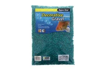 Aquarium Decorative Gravel Aqua 7mm 5kg Fish Tank Pebbles 10284AQ Aqua One