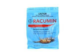 Racumin Rat and Mouse Paste Bait 50 Sachets Coumatetralyl Bayer 500g