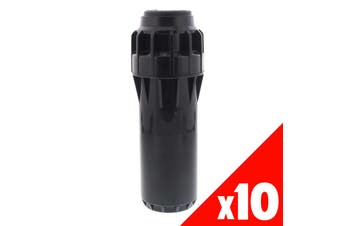 Pop Up Sprinkler Hunter I25 Ultra Adjustable Check Valve Garden Water 10 Pack