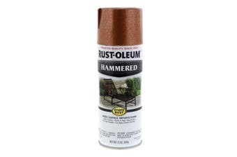Hammered Copper Spray Paint Can 340g Rustoleum Rust Prevention Formula Patented