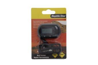 Reptile LCD Thermometer Dual Zone Sensor Reptile One Accurate Monitoring Temp