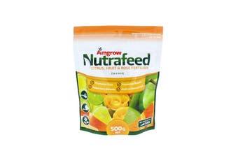 Nutrafeed Citrus Fruit Rose Fertiliser (16-2-24-5) Makes up to 500L Amgrow 500g